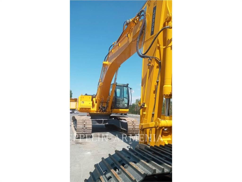 JCB JS330LC, Crawler Excavators, Construction