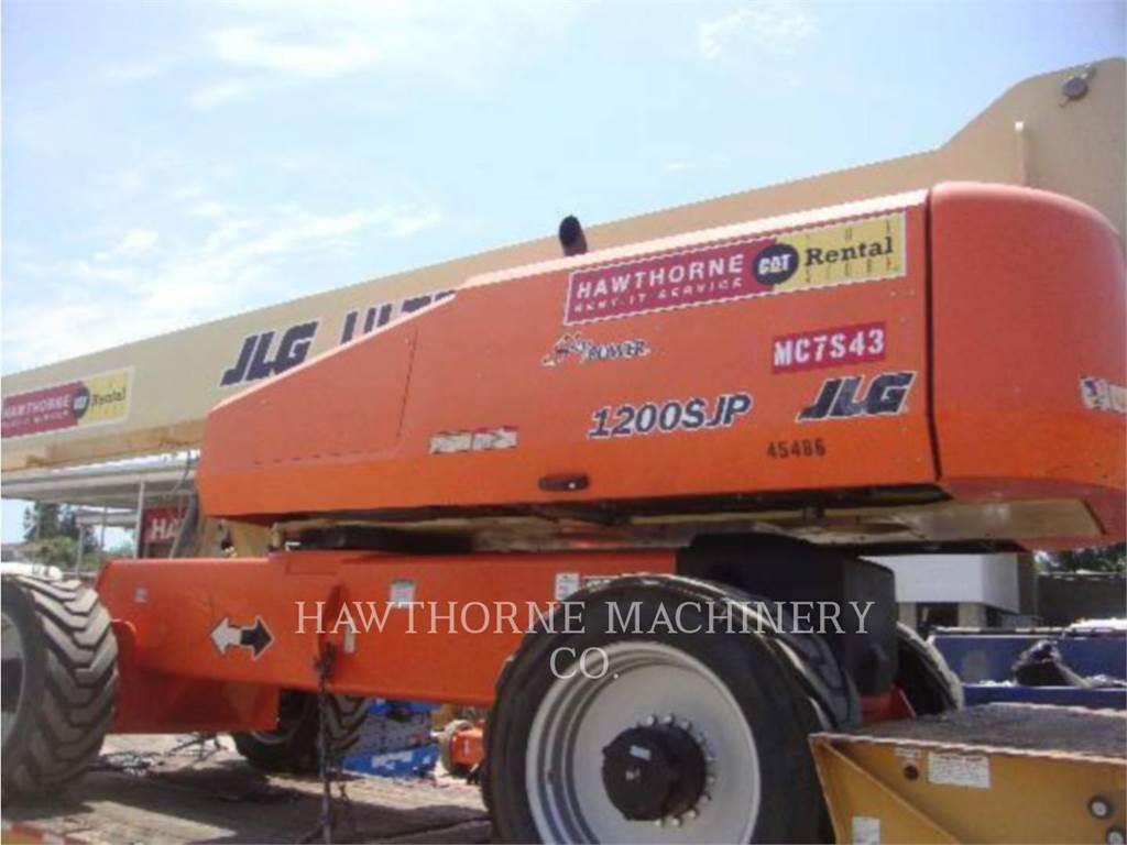 JLG 1200SJP, Gelenkteleskoparbeitsbühnen, Bau-Und Bergbauausrüstung