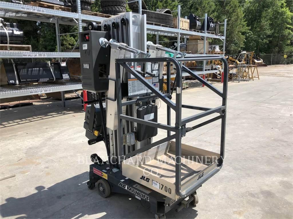 JLG 30AM-DC, lift - scissor, Construction