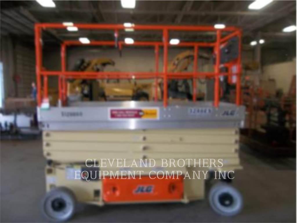 JLG 3246ES, lift - scissor, Construction