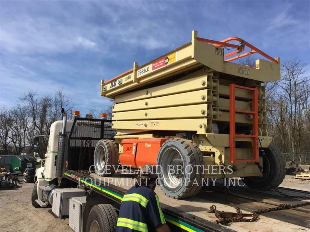 JLG 3369LE, ridicare – foarfeci, Constructii
