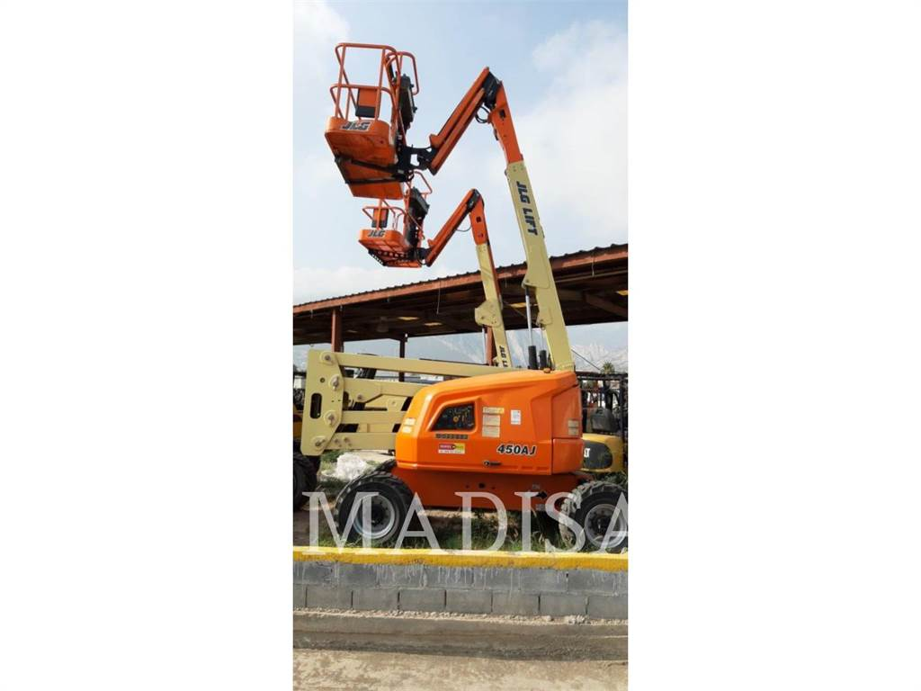 JLG 450AJ 4WD, Articulated boom lifts, Construction