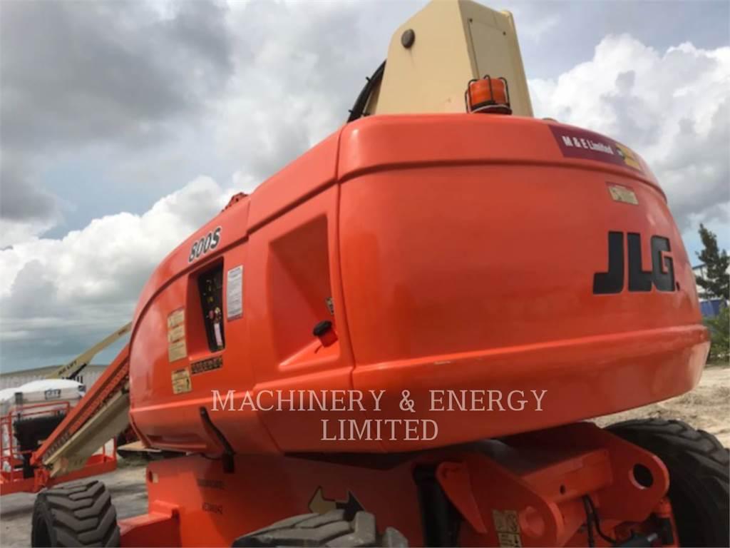 JLG 800S, Knikarmhoogwerkers, Bouw