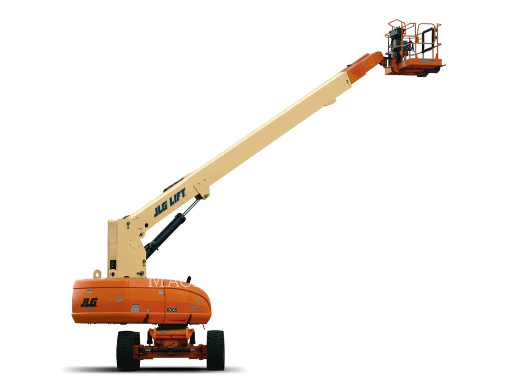 JLG 800S, Articulated boom lifts, Construction