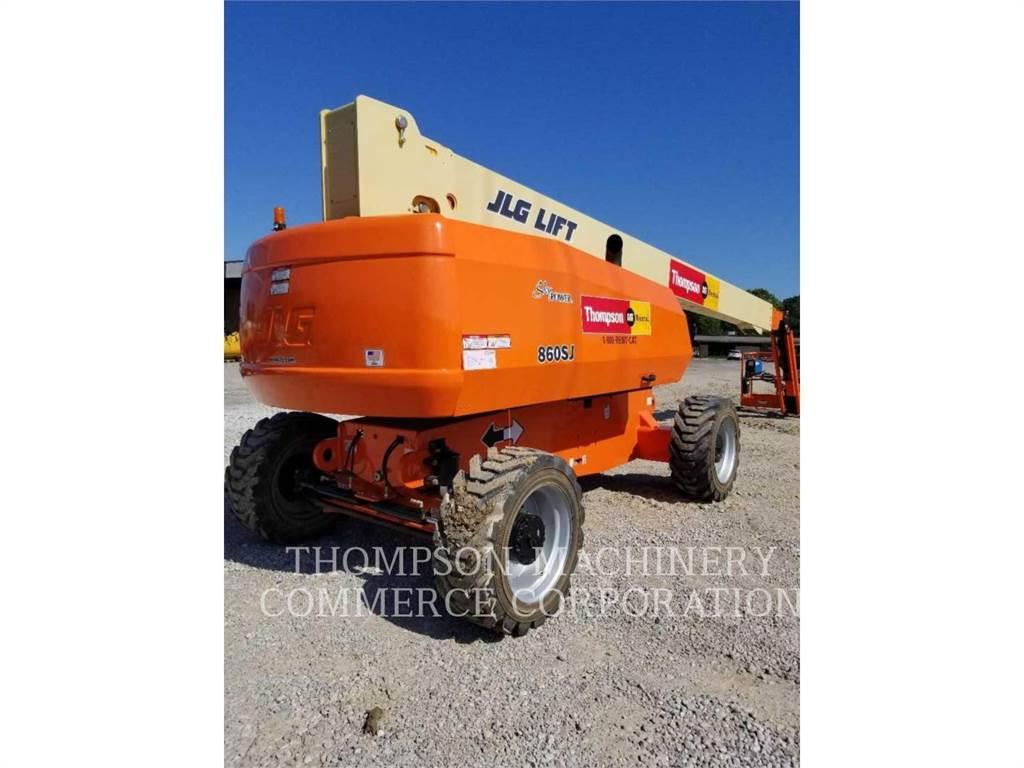 JLG 860SJ, Articulated boom lifts, Construction