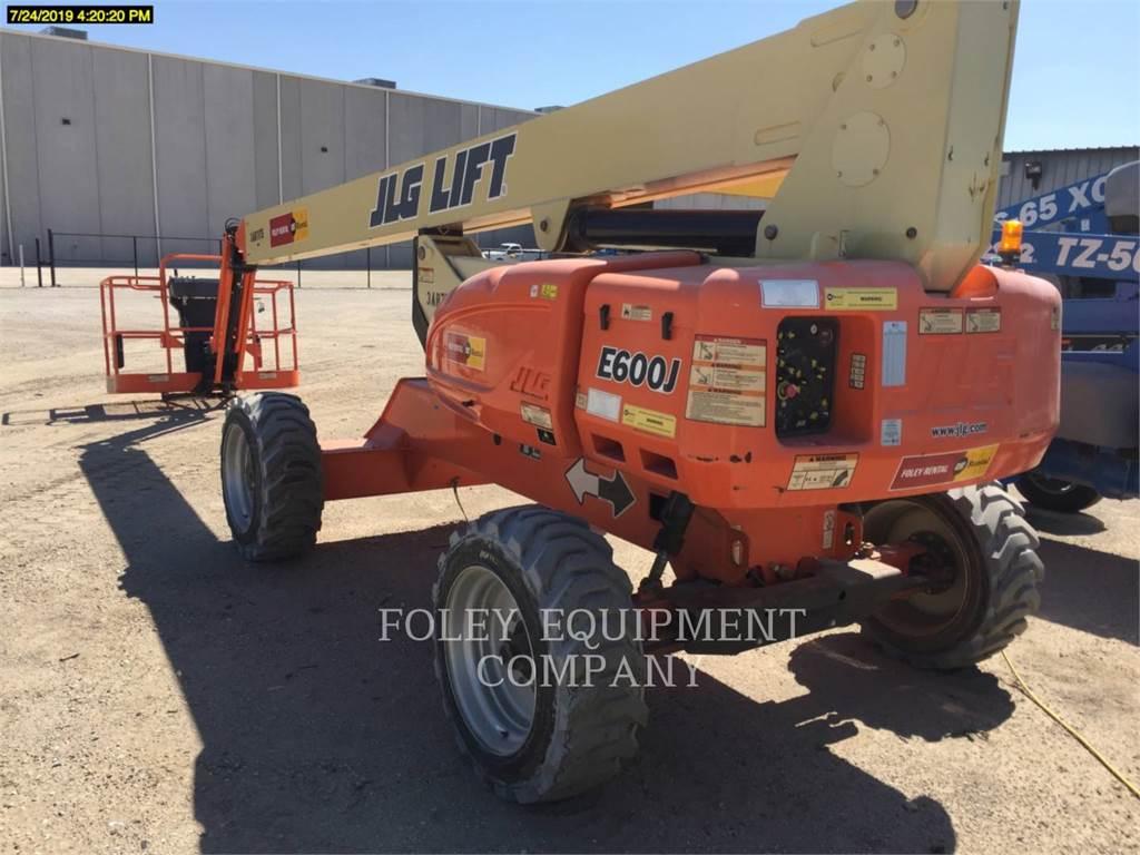 JLG E600J, Nacelles articulées, Équipement De Construction