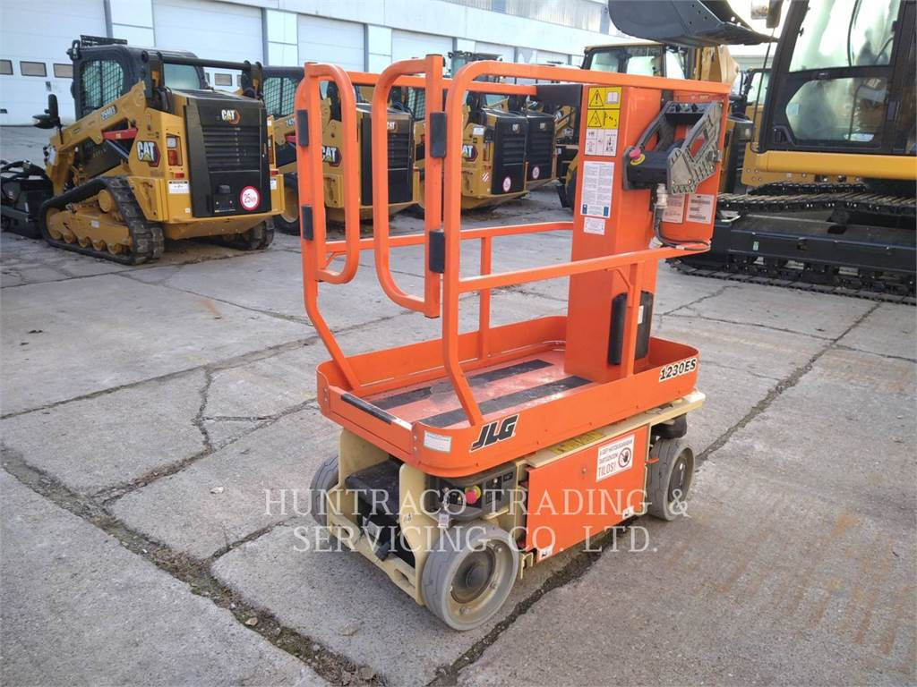 JLG INDUSTRIES (EUROPE) 1230ES, Other lifts and platforms, Construction