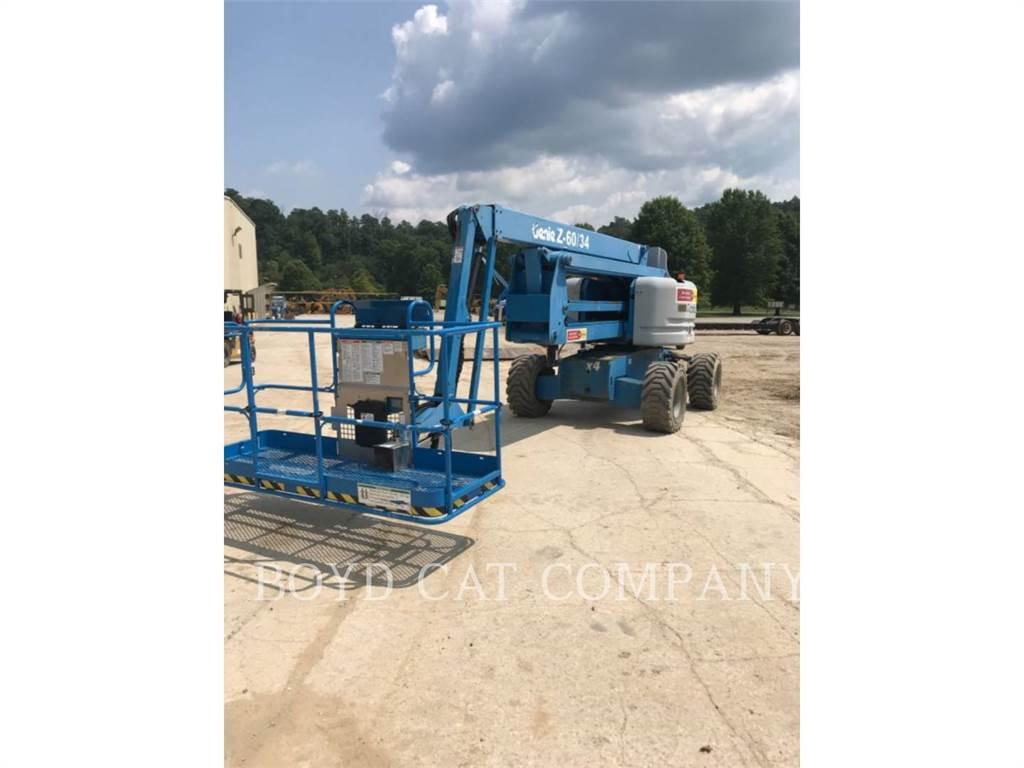JLG INDUSTRIES (EUROPE) Z60/34, Nacelles articulées, Équipement De Construction
