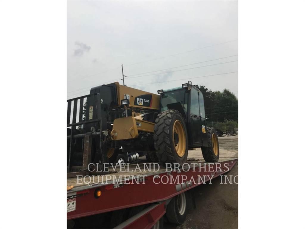 JLG TL642C, telehandler, Construction