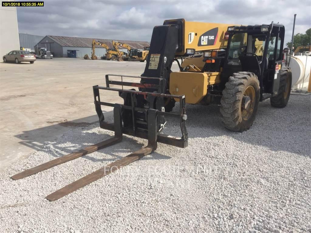 JLG TL943C, telehandler, Construction