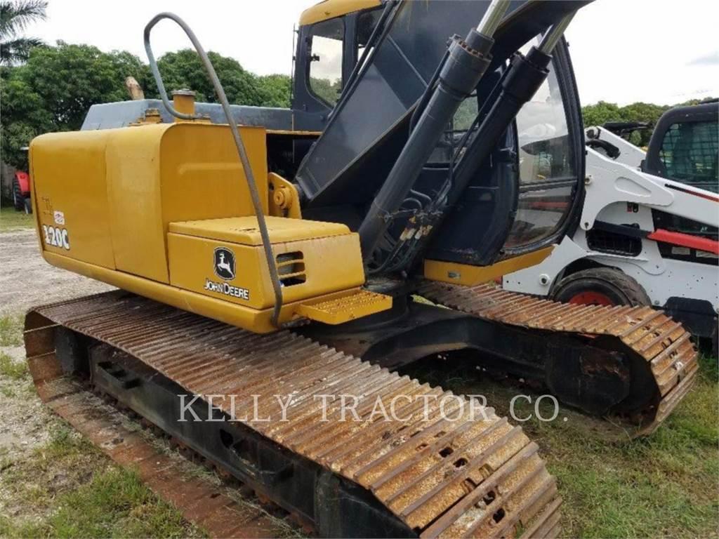 John Deere 120, Escavadoras de rastos, Equipamentos Construção
