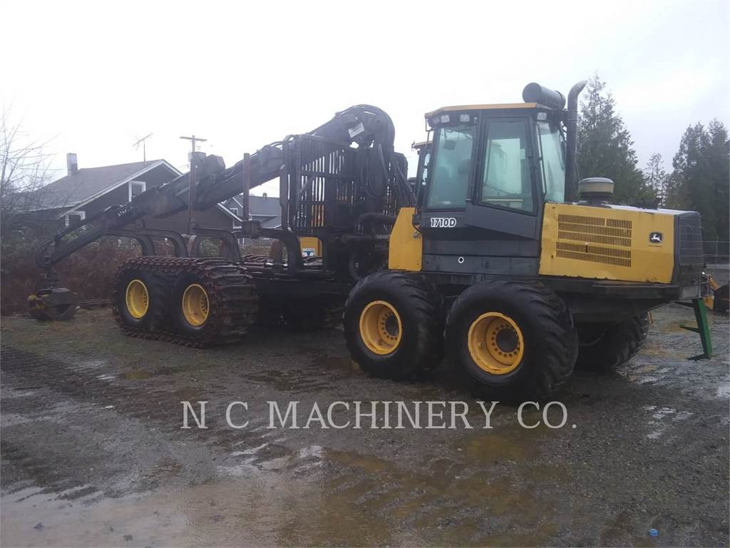 John Deere 1710D, Knuckleboom loaders, Forestry Equipment