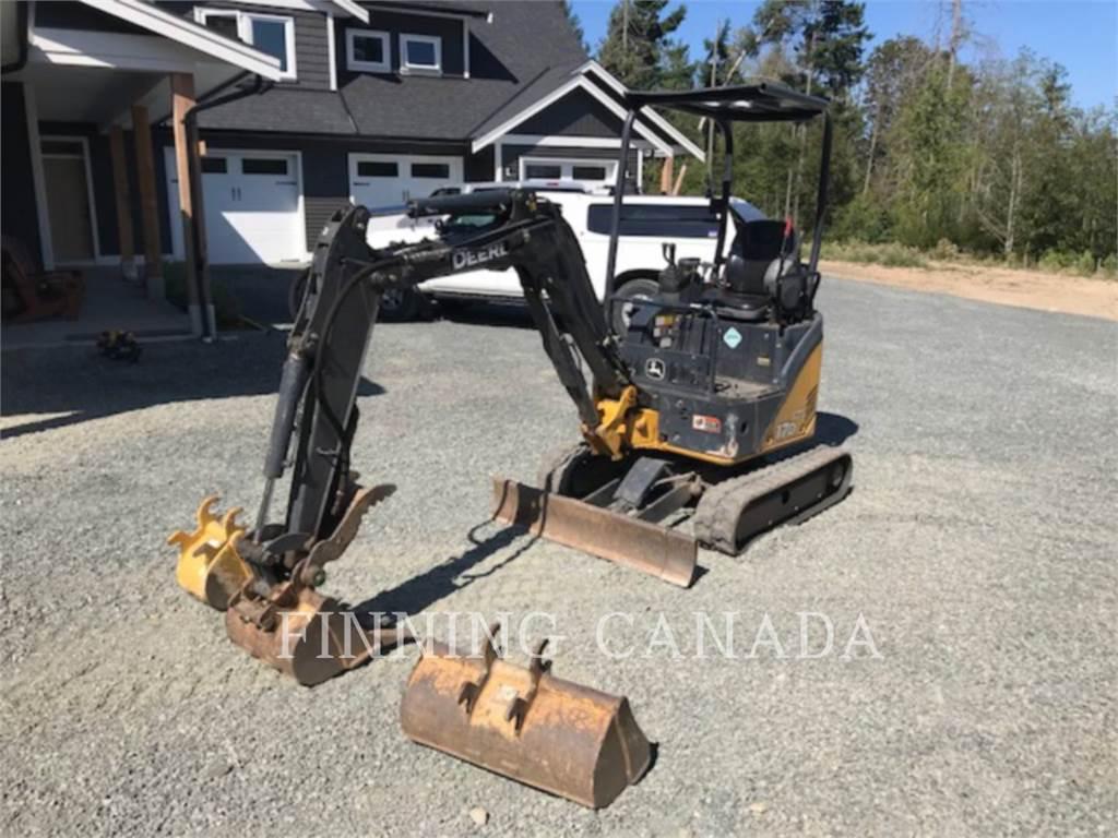John Deere 17D, Crawler Excavators, Construction