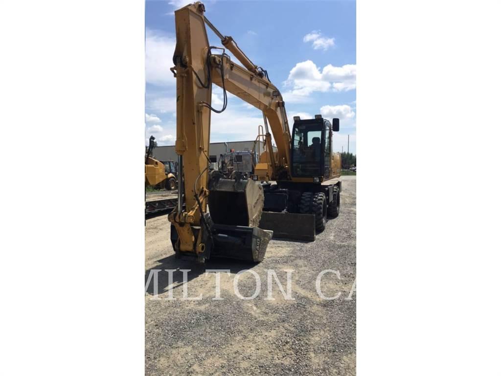 John Deere 180C W, wheel excavator, Construction