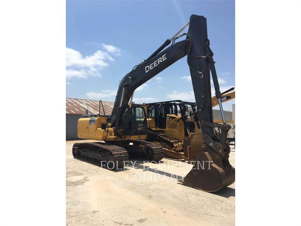 John Deere 180GLC, Escavadoras de rastos, Equipamentos Construção