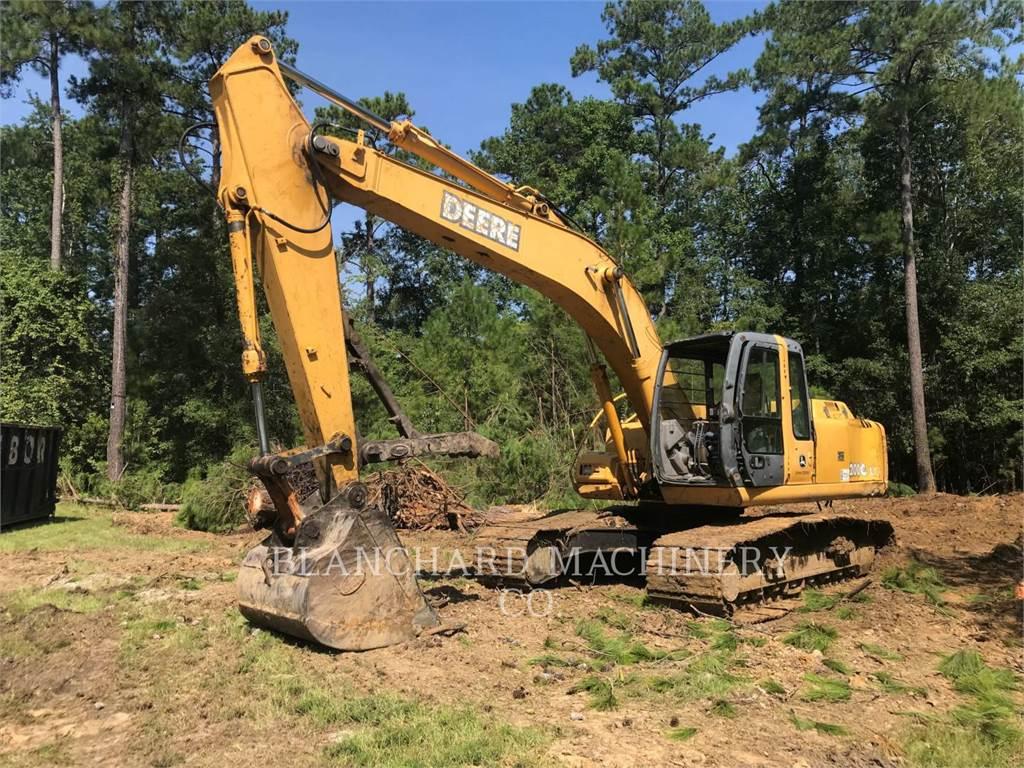 John Deere 200C, Escavatori cingolati, Attrezzature Da Costruzione