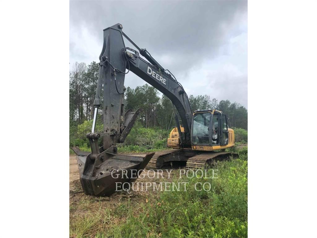 John Deere 210G LC, Crawler Excavators, Construction