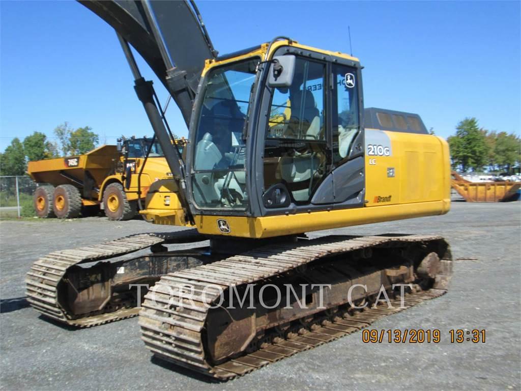 John Deere 210GLC, Crawler Excavators, Construction