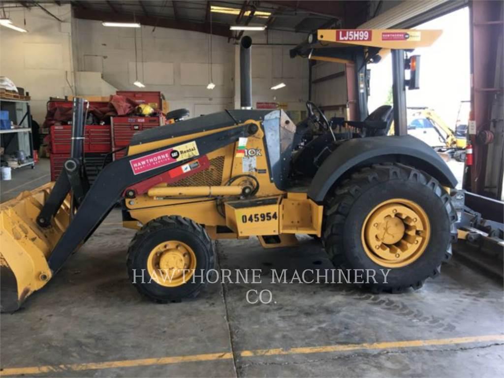 John Deere 210K, backhoe loader, Construction