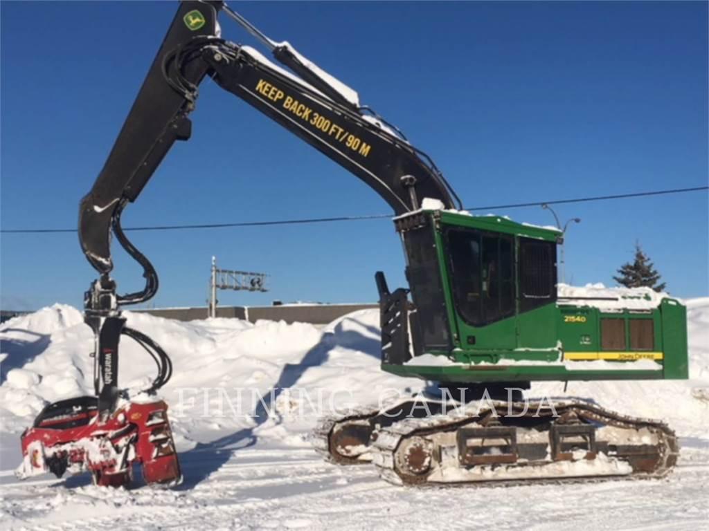 John Deere 2154, Forestry Excavators, Forestry Equipment