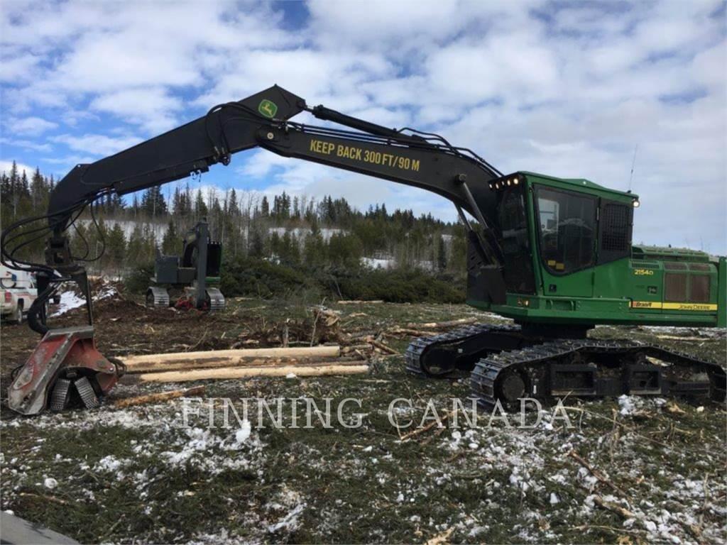 John Deere 2154D, Excavadoras, Forestal