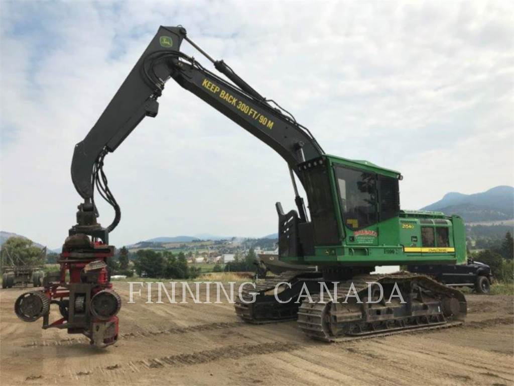 John Deere 2154D, Forestry Excavators, Forestry Equipment