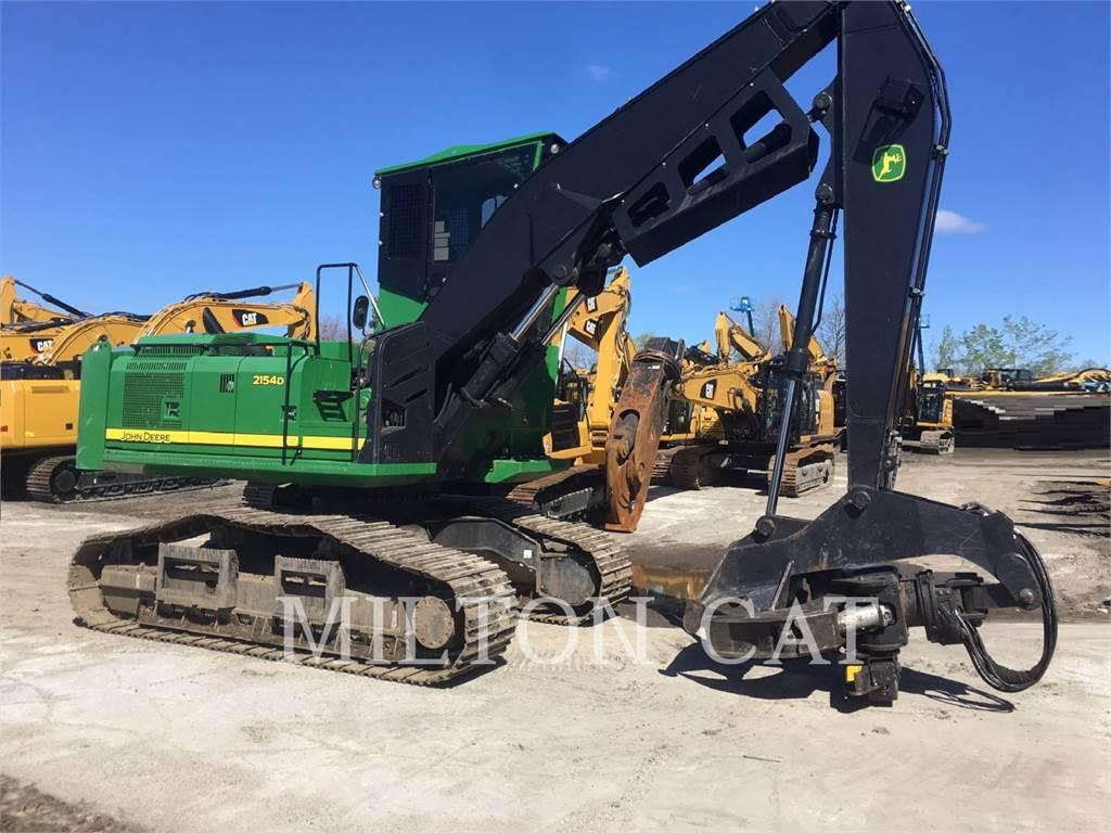 John Deere 2154D, Feller Bunchers, Forestry Equipment