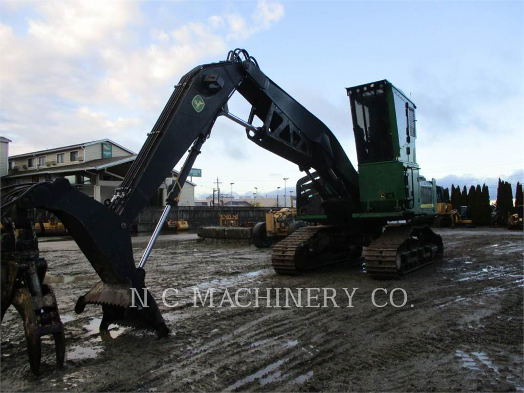 John Deere 2154D, Knuckleboom loaders, Forestry Equipment