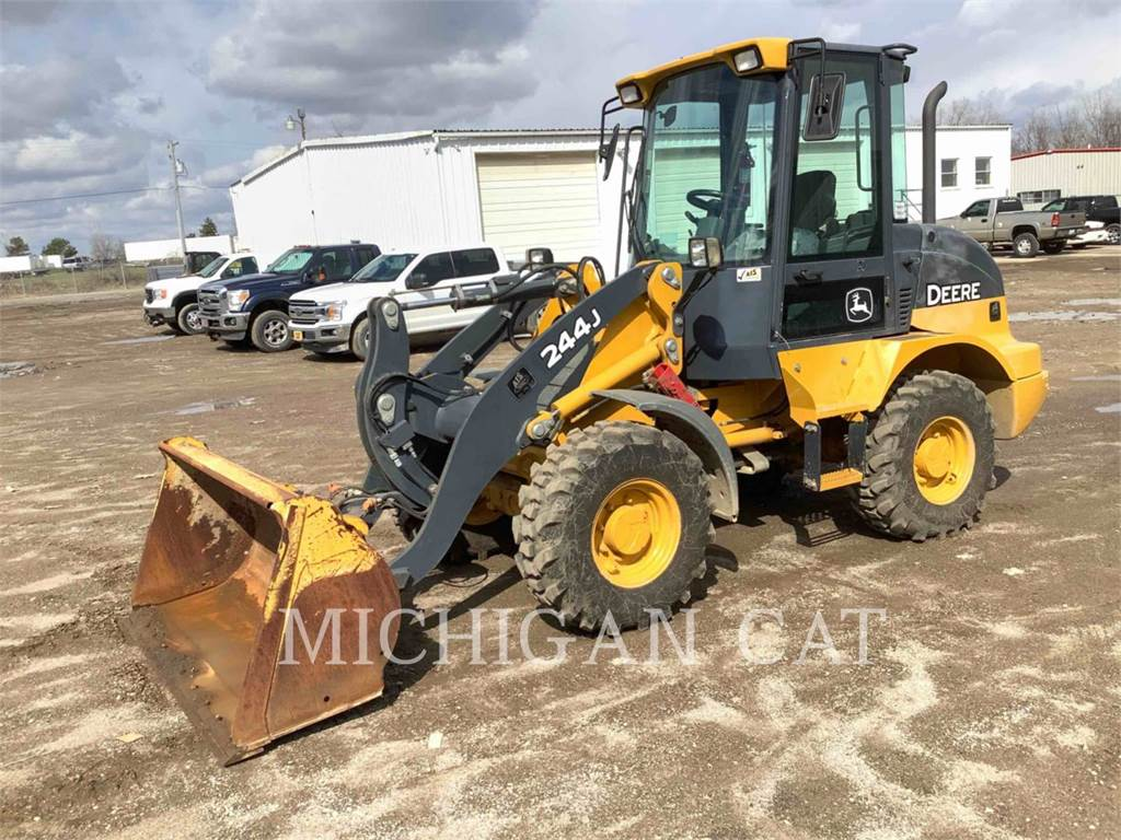 John Deere 244J, Wheel Loaders, Construction
