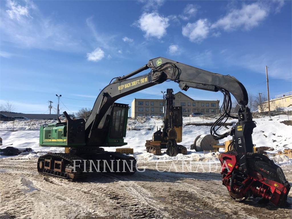 John Deere 2454D, Forestry Excavators, Forestry Equipment