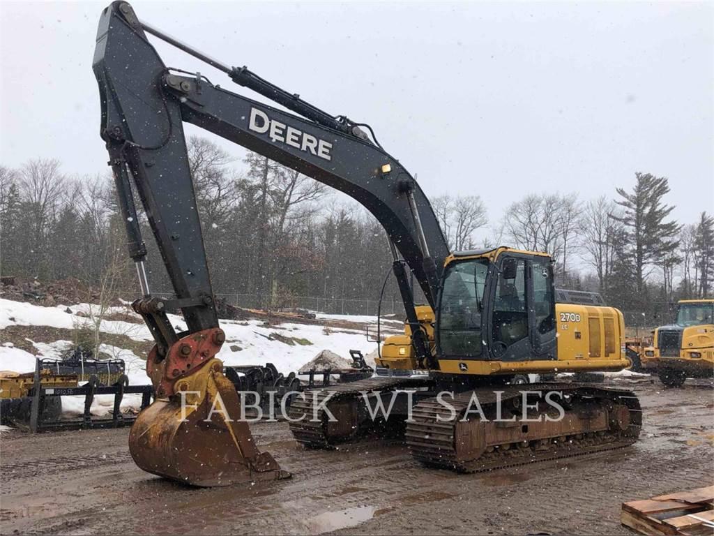 John Deere 270D, Crawler Excavators, Construction