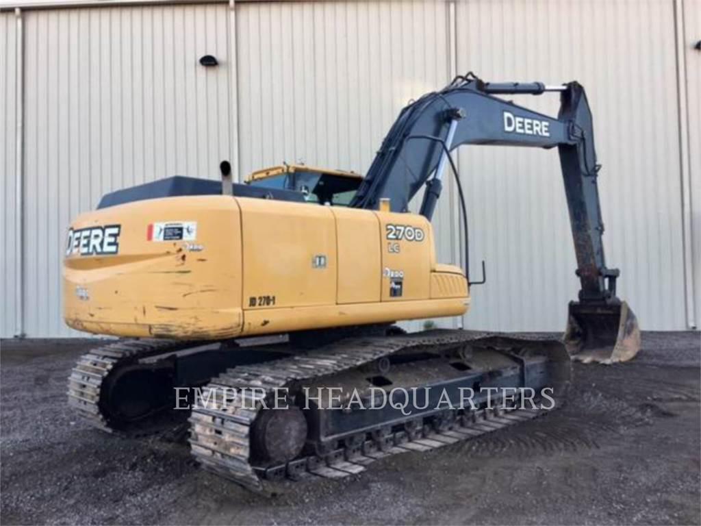 John Deere 270D LC, Crawler Excavators, Construction