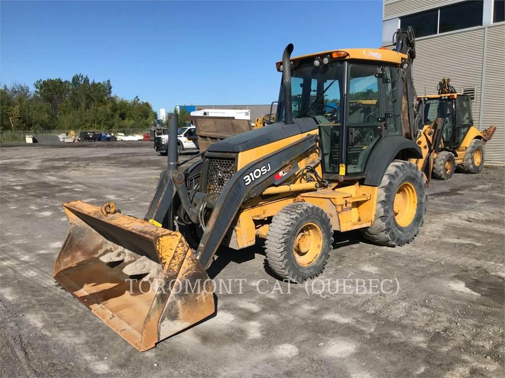 John Deere 310SJ, buldoexcavatoare, Constructii