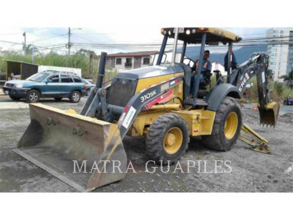 John Deere 310SK, backhoe loader, Construction