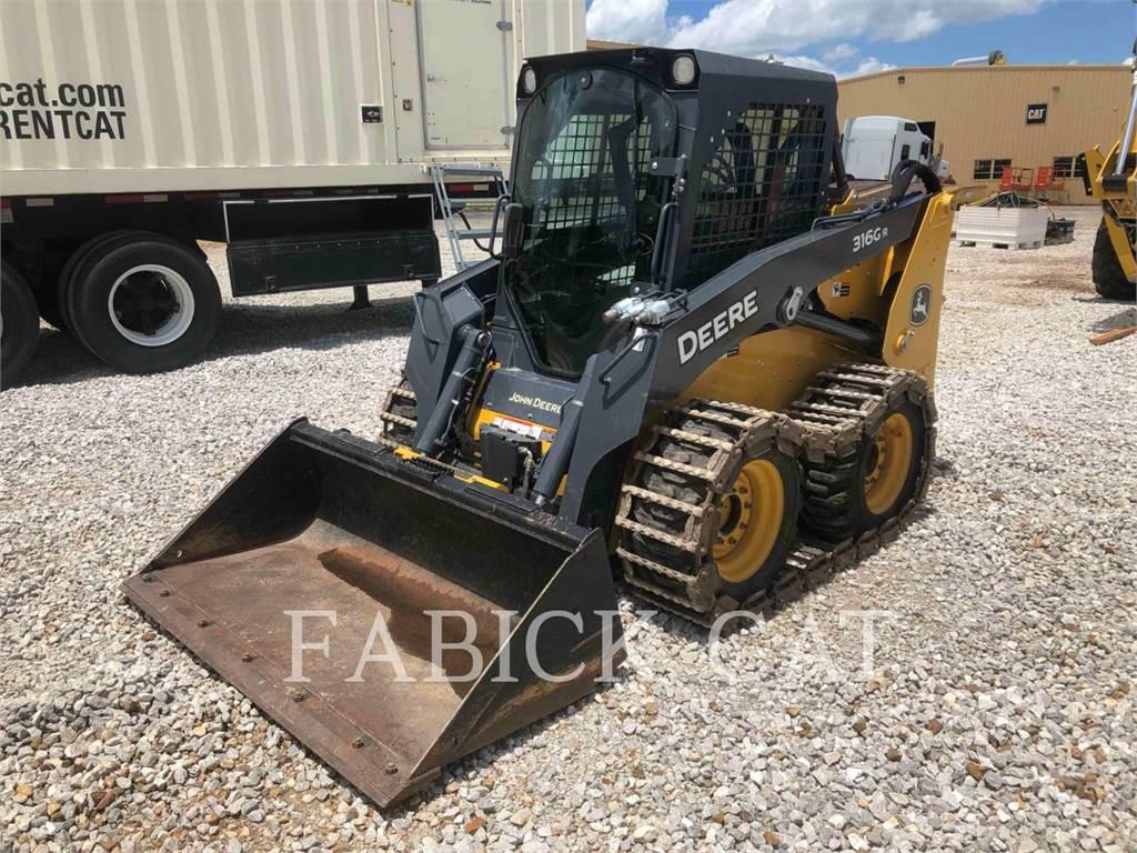 John Deere 316 G R, Skid Steer Loaders, Construction