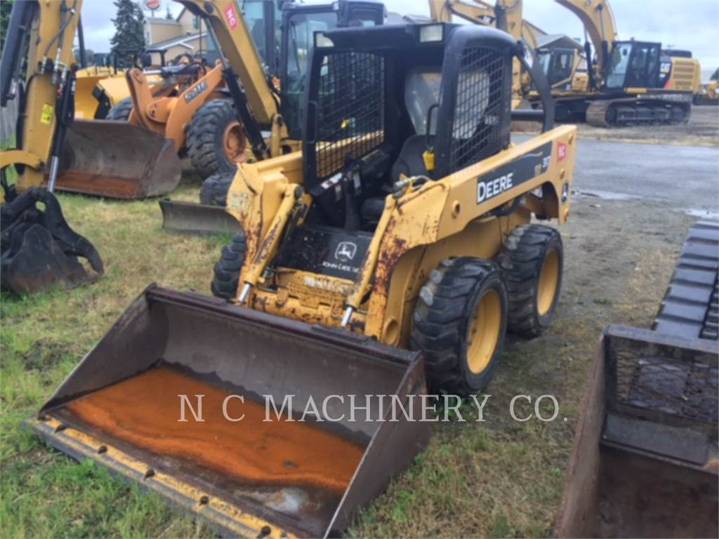 John Deere 317, Skid Steer Loaders, Construction