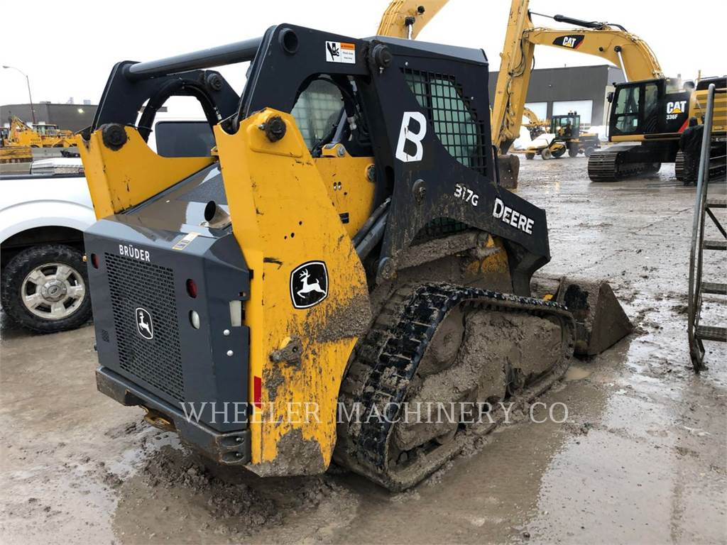 John Deere 317G CTL, Skid Steer Loaders, Construction