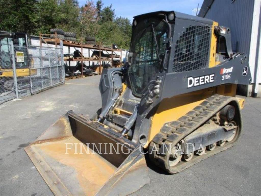 John Deere 319 E, Minicargadoras, Construcción