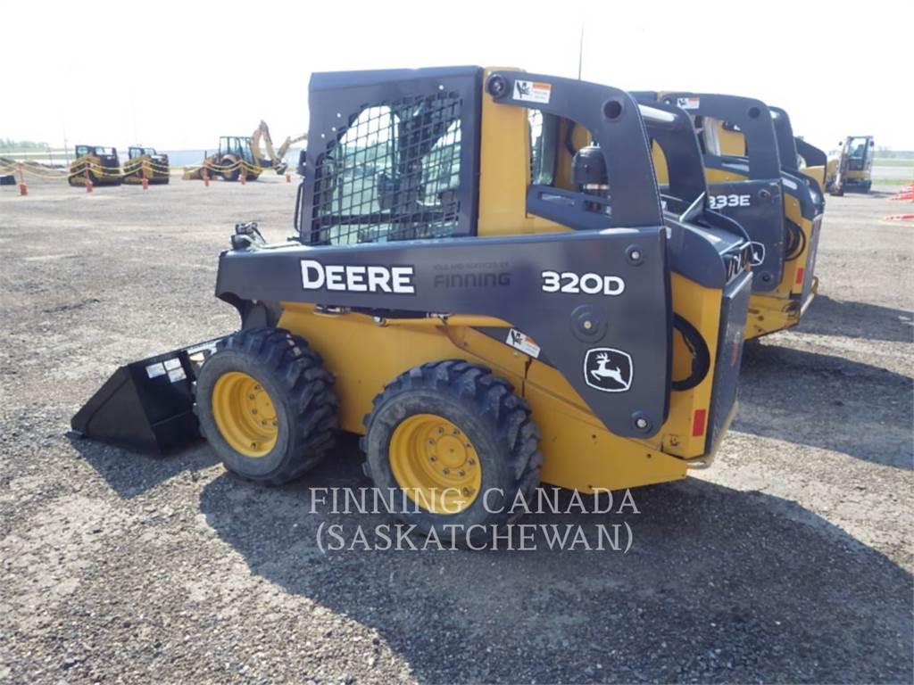 John Deere 320D, Schrankladers, Bouw
