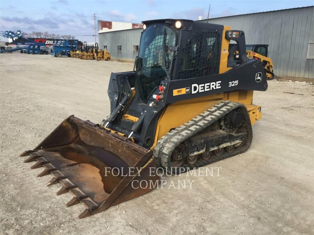 John Deere 325G, Skid Steer Loaders, Construction