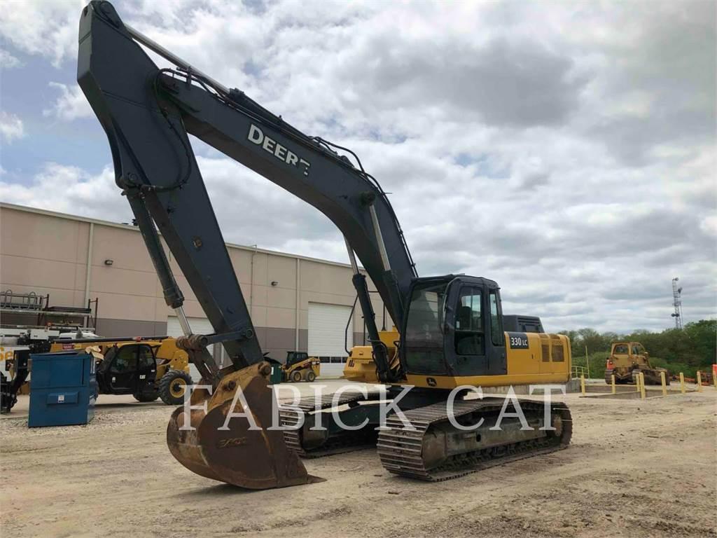 John Deere 330C, Raupenbagger, Bau-Und Bergbauausrüstung