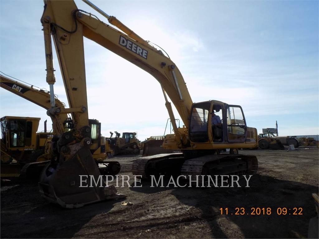 John Deere 330LC, Pelle sur chenilles, Équipement De Construction