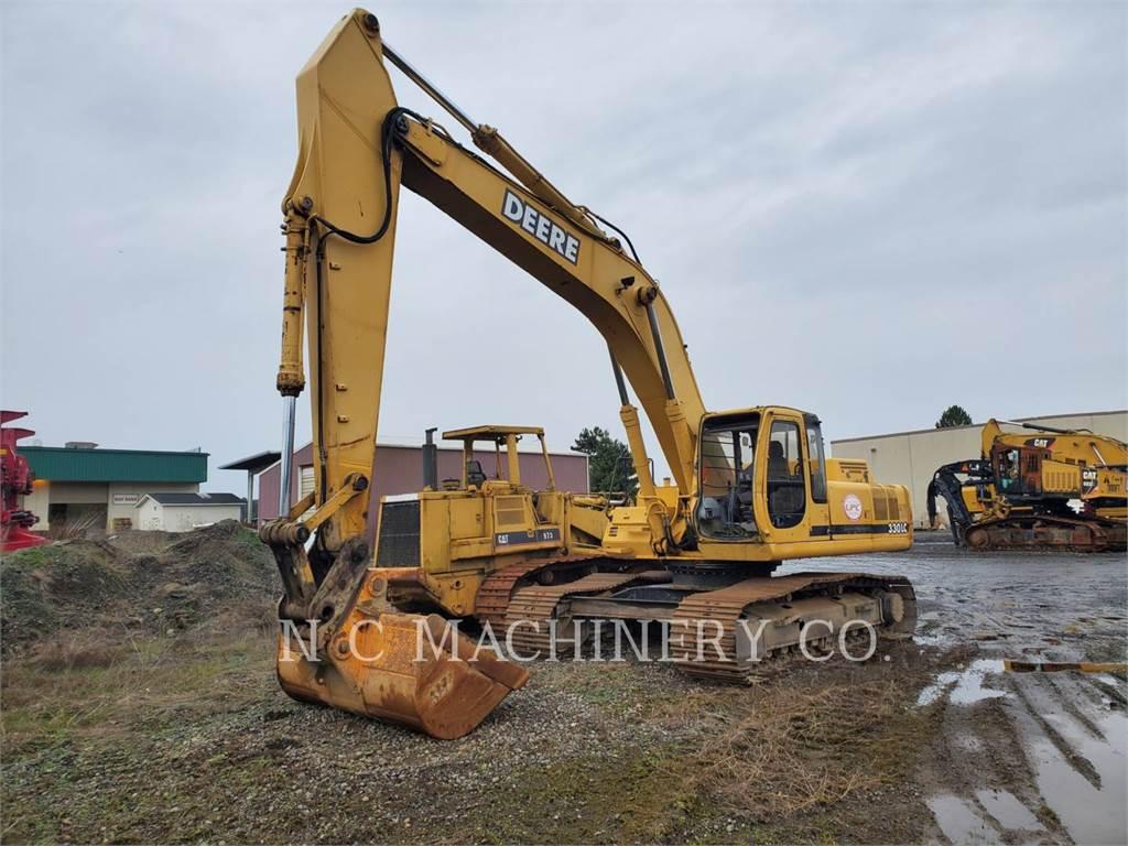 John Deere 330LC, Crawler Excavators, Construction