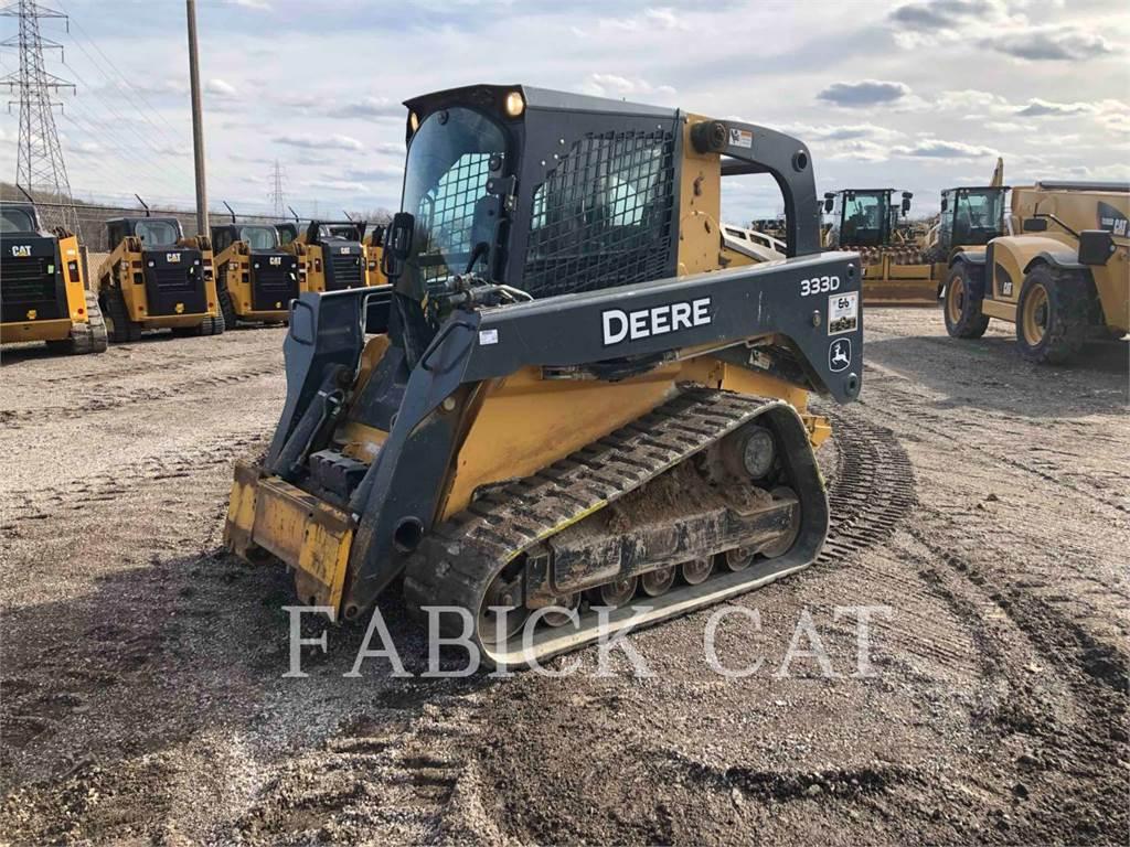 John Deere 333D, Kompaktlader, Bau-Und Bergbauausrüstung