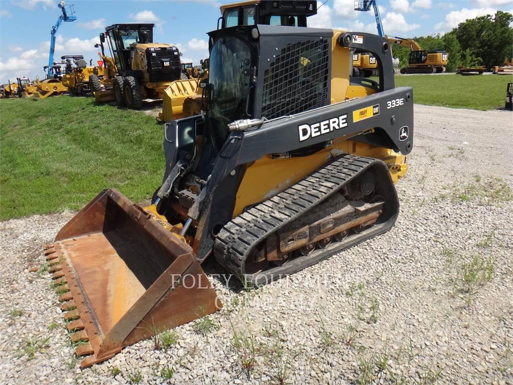 John Deere 333E, track loaders, Construction