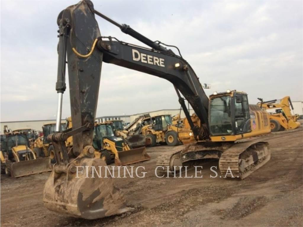 John Deere 350G LC、履带挖掘机、建筑设备