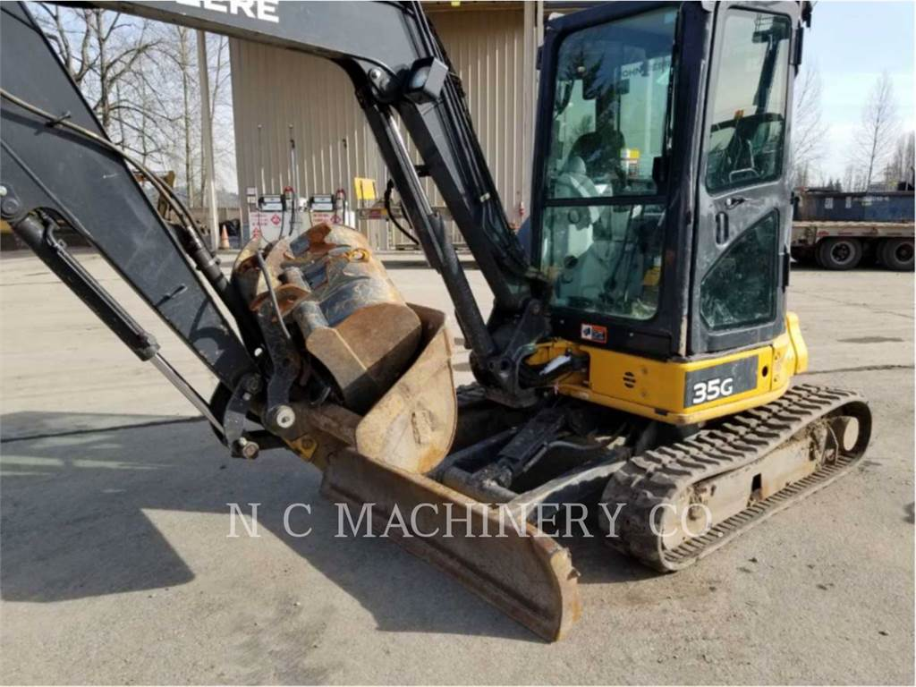John Deere 35G, Crawler Excavators, Construction