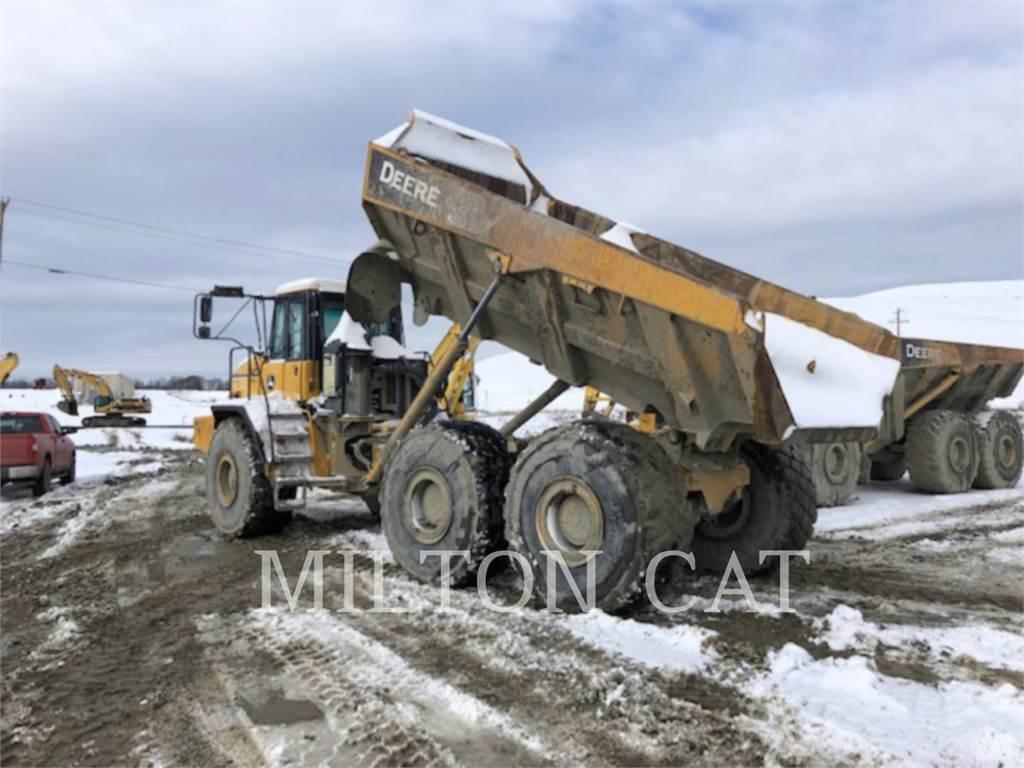 John Deere 400D, Knik dumptrucks, Bouw