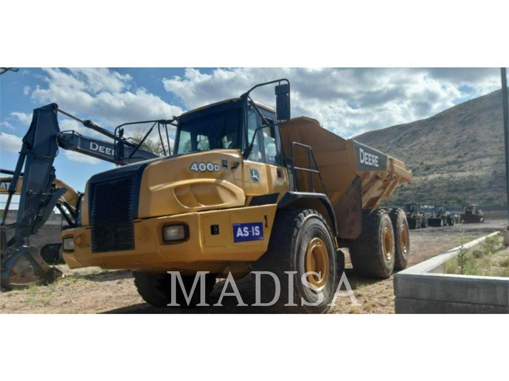 John Deere 400D, Articulated Dump Trucks (ADTs), Construction