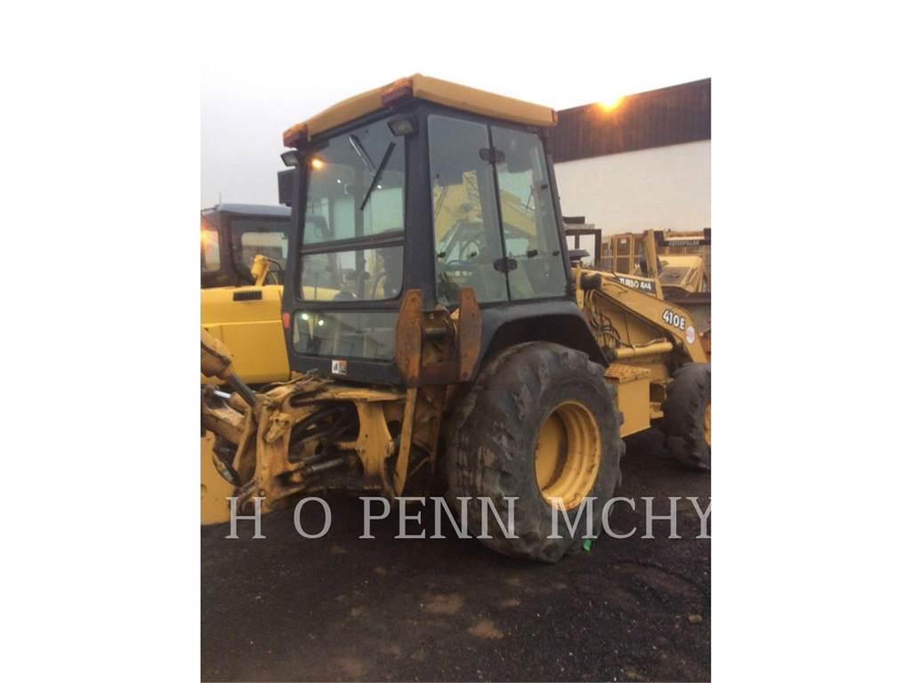 John Deere 410E, backhoe loader, Construction